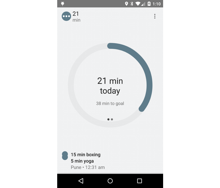 iCountTimer - Android Features