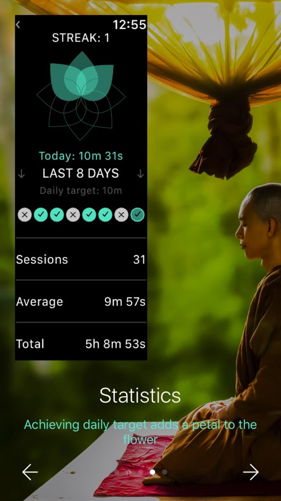 statistics-apple-watch-meditation-app